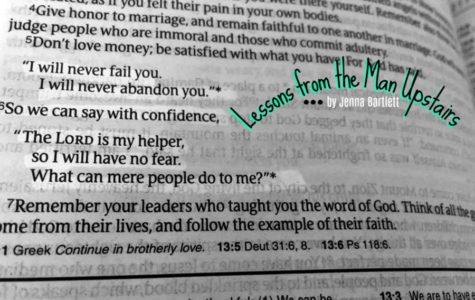 LESSONS FROM THE MAN UPSTAIRS: His unfailing love