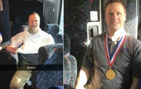 B-A trainer shaves beard to celebrate B-A title