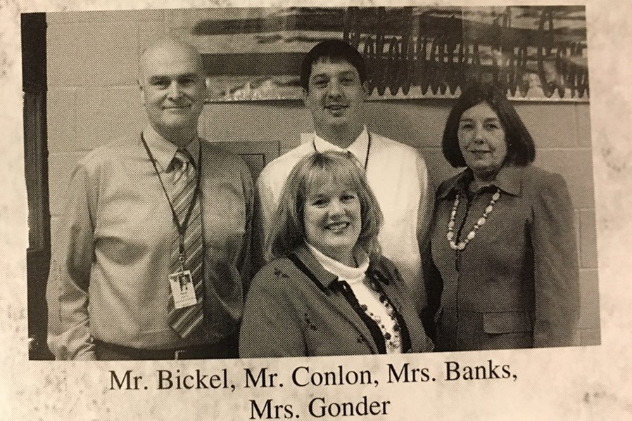 Mrs.+Banks%2C+shown+with+Mr.+Bickel%2C+Mr.+Conlon%2C+and+Mrs.+Gonder%2C+was+a+fixture+at+the+Bellwood-Antis+Middle+School.