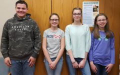 Middle school recognizes Students of the Week