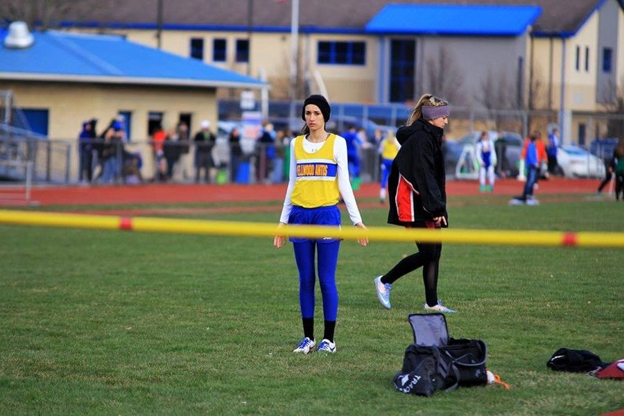Kamryn Mercer is better than ever on the track as a senior.