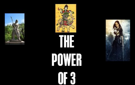 THE POWER OF THREE: ultimate female warriors