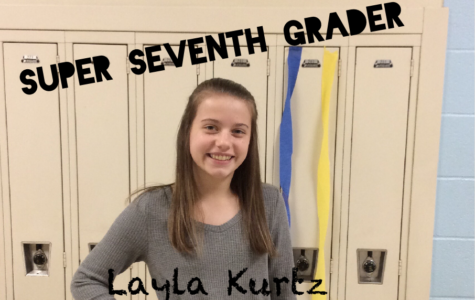 Super Seventh Grader: Layla Kurtz