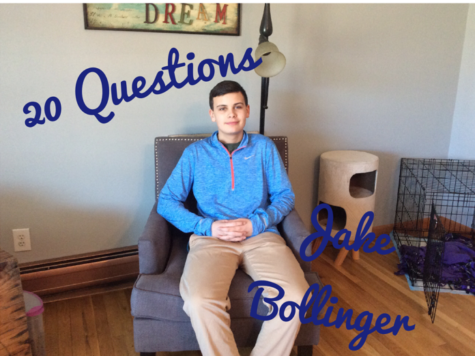 20 Questions with Jake Bollinger