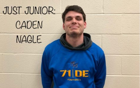 JUST JUNIOR: Caden Nagle