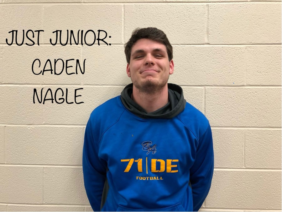 Junior, Caden Nagle, is this weeks Just Junior!!!