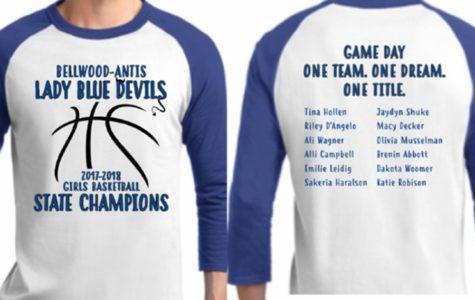 Lady Devils selling championship gear