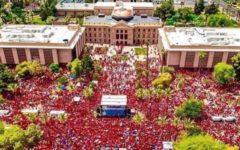 Former B-A teacher takes part in Arizona walkout