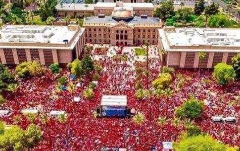 More than 20,000 teachers participated in the Arizona teacher's walkout.