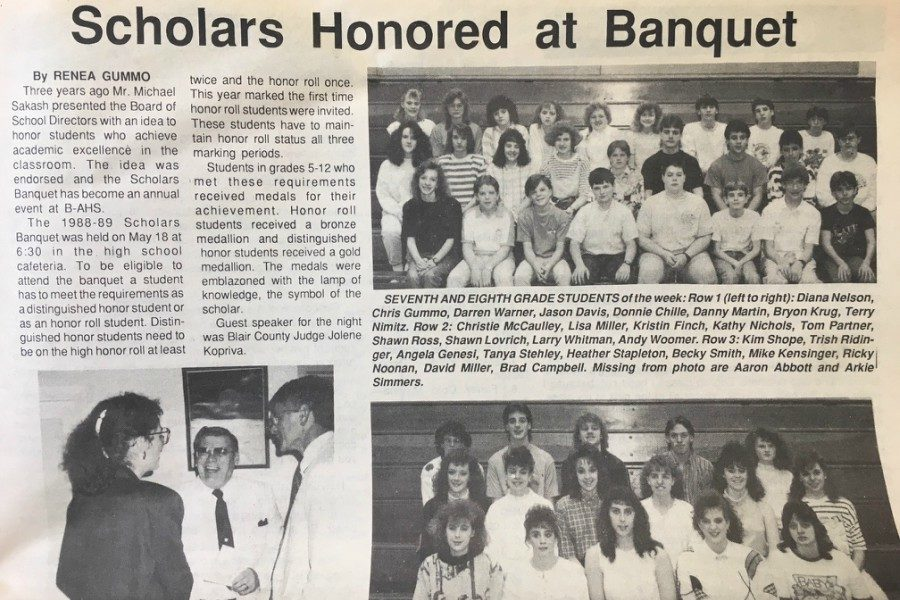 The Honors Banquet is nearing its 30th year of celebration.