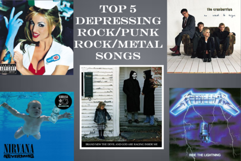 Top 5 Depressing Rock/Pop Punk/Metal Songs