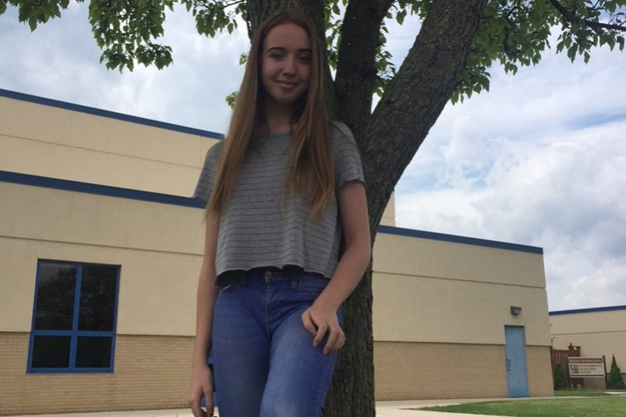 Haley Campbell has enjoyed the freedom of BA high school life.
