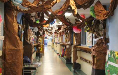 First grade students create museums