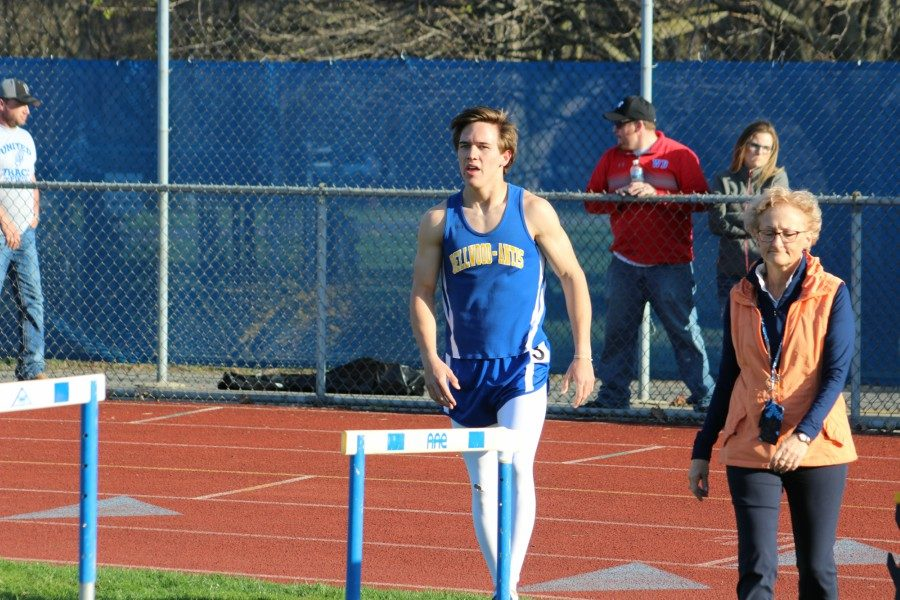Tanner Worthing blazed to a 52.15 in the open 400, and then helped the 1600 relay team bring home gold.