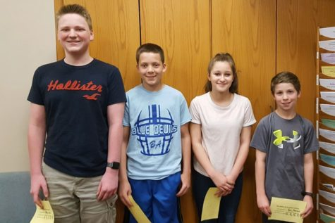 Mathcounts team places second
