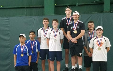B-A exchange student finishes third in state tennis tournament