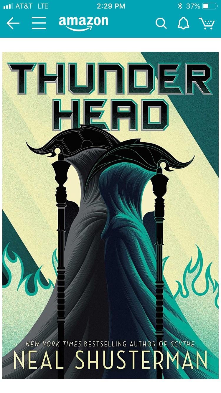 Thunderhead is the latest installment in the Arc of the Scythe series.