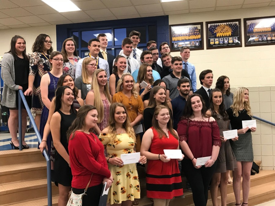 Thirty-five senior received more than $66,000 in scholarships at the annual Achievement Banquet.