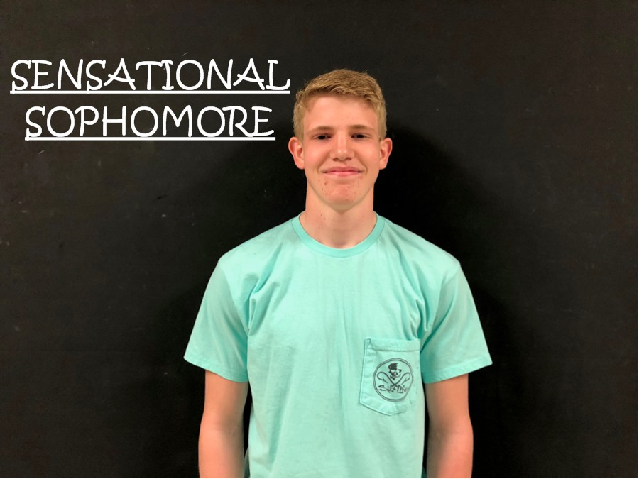 Alex Roberts is the Sensational Sophomore this week!