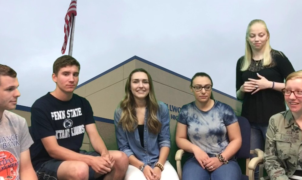 Colin McCaulley, Jake Miller, Sidney Patterson, Olivia Statter, and Julie Bauer have left an indelible mark on the BluePrint, and now they are heading off to college.