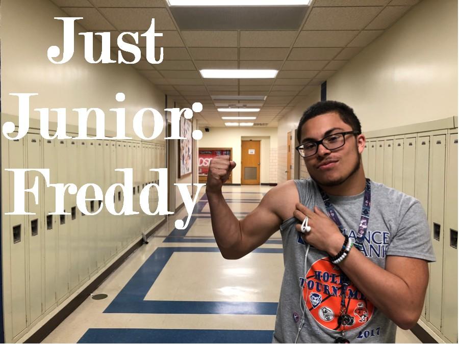 Alex Frederick (Freddy) is this weeks Just Junior!