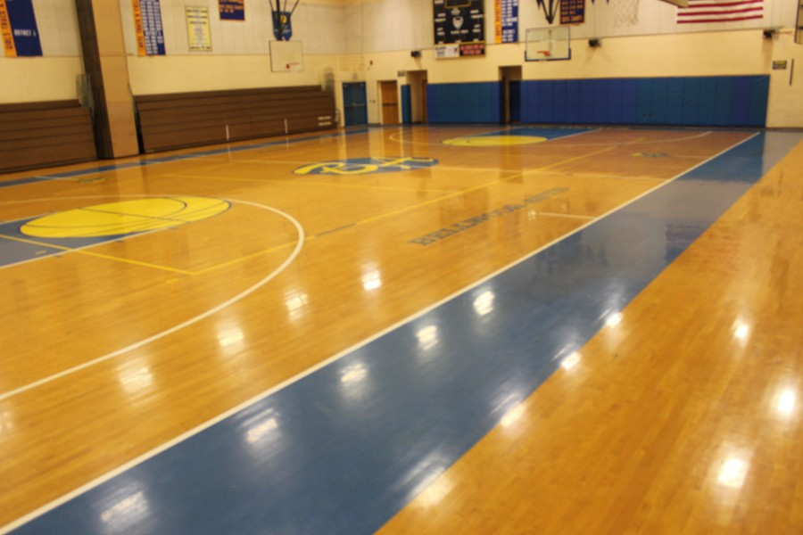 The Bellwood-Antis High School gym is getting a major face lift in an effort to make the area safer.