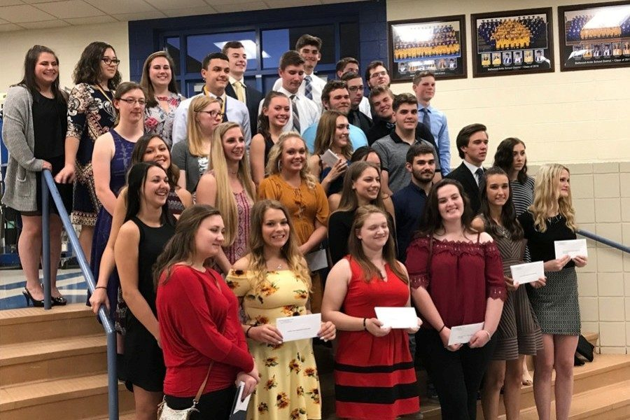 B-A seniors were awarded more than $66,000 in scholarships this year.