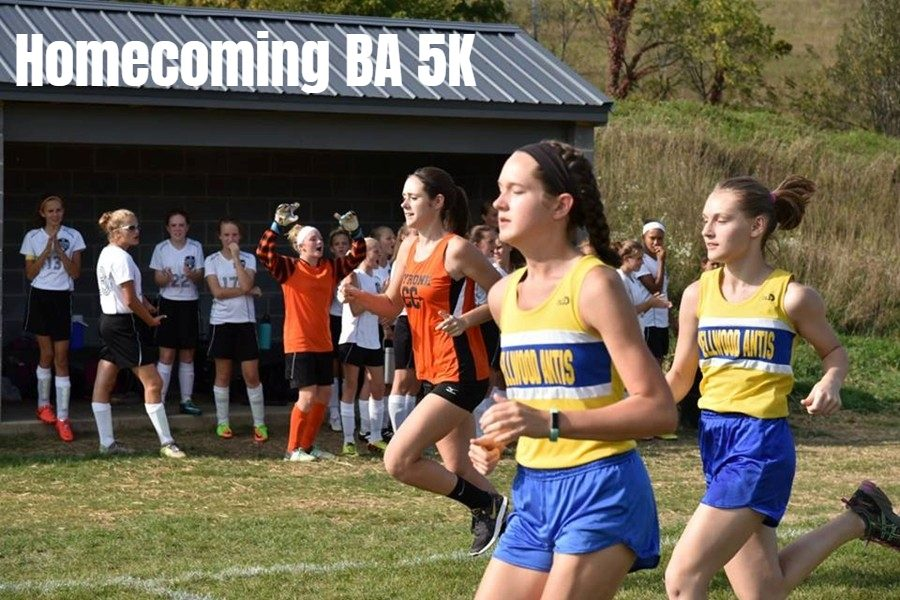 The Bellwood-Antis cross country team is hosting a 5K run for Homecoming.