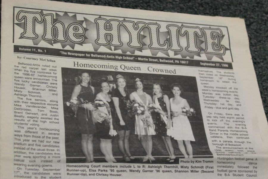 BA HISTORY 101: 1996 Homecoming spirit week