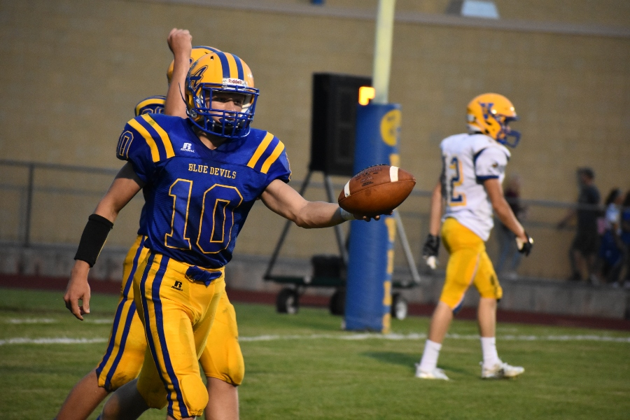 Shawn Wolfe played a big role in last week's win over Glendlae.
