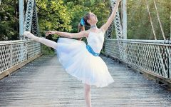 Emily Osborne is a junior who loves to dance.