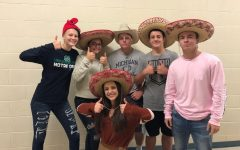 Myers Elementary holding Hat Day