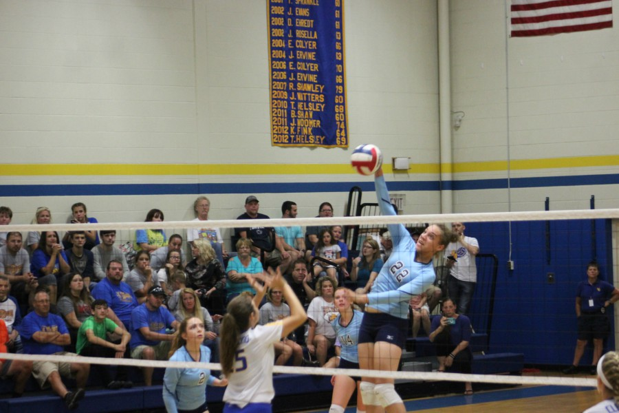 The Lady Devils improved to 4-1 against Everett.