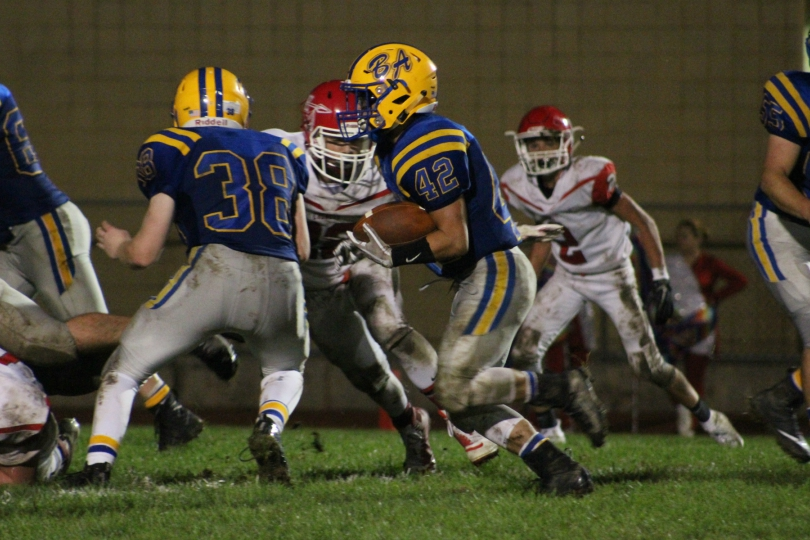 Alex Frederick had his second straight 100-yard game against Everett.