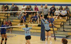 PHOTOSTORY: Volleyball team Christens new gym