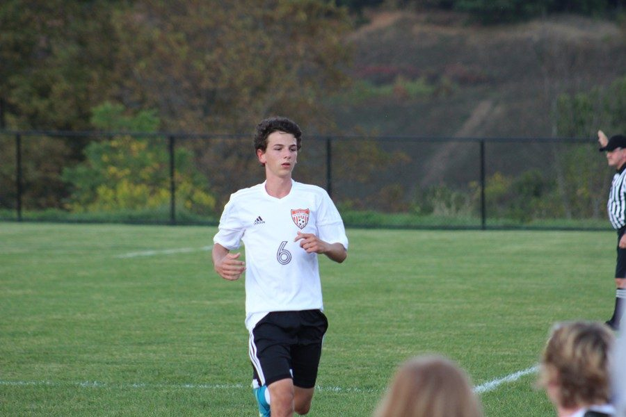 Owen Shaulis is set to begin his senior season on the varsity soccer team.