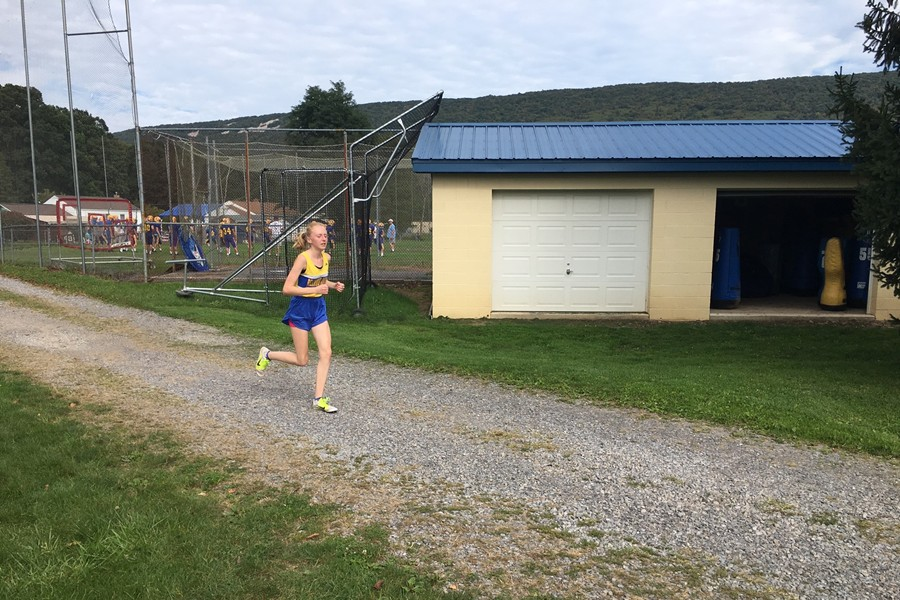 Jenna Bartlett and the rest of the cross country team had their first meet postponed due to the heat.