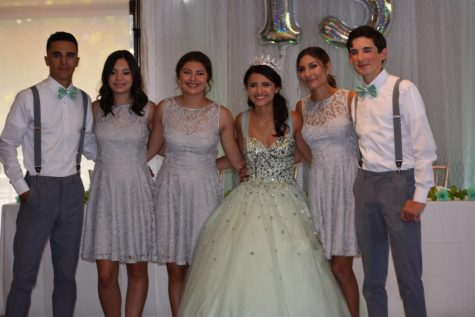 Maria Cuevas celebrated her quincenera last summer.