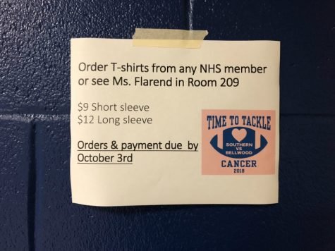 NHS selling t-shirts for Pink-Out game