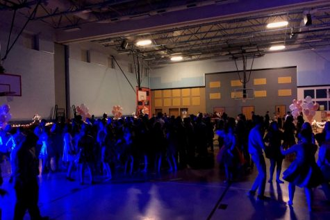 More than 200 students attended the Homecoming dance.