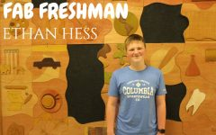 Freshman Ethan Hess is loving high school life.