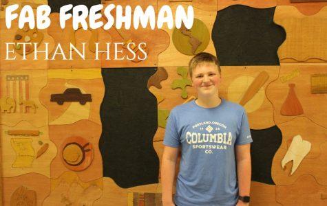 FAB FRESHMAN: Ethan Hess