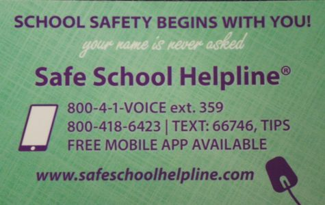 School Helpline for students, staff,and community