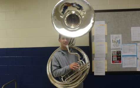 B-A band purchases a sousaphone