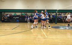 Volleyball team downs Juniata Valley