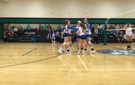 Volleyball team downs Juniata Valley