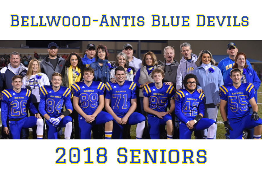 Blue+Devils+seniors+and+their+families+were+recognized+on+Friday.