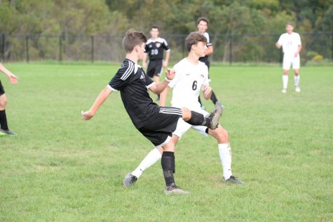 Soccer team aiming for playoff spot