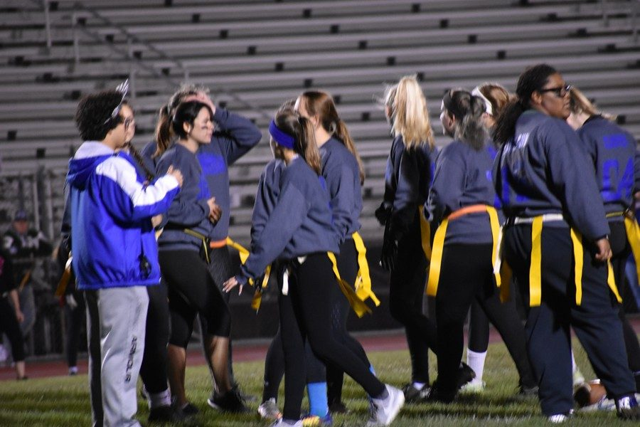 The seniors are looking for a win Sunday in the Powder Puff game.