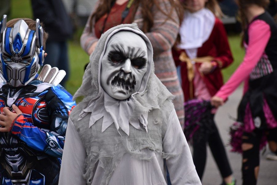 Myers+had+its+annual+Halloween+parade+on+Wednesday.